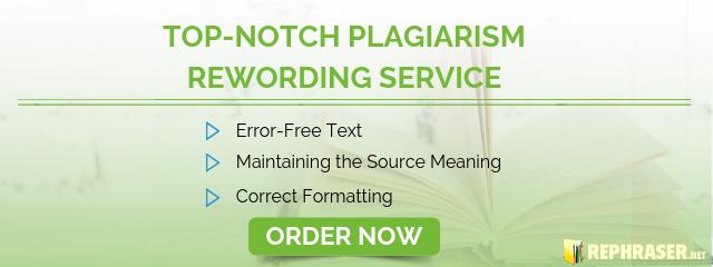 plagiarism rewording