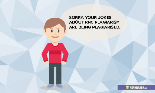 funny plagiarism jokes
