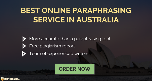 best paraphrasing online service in australia