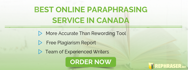 best paraphrasing service in canada