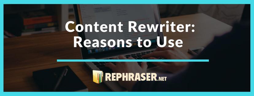 content rewriter pros