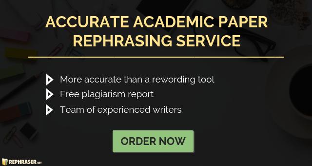 paper rewriter