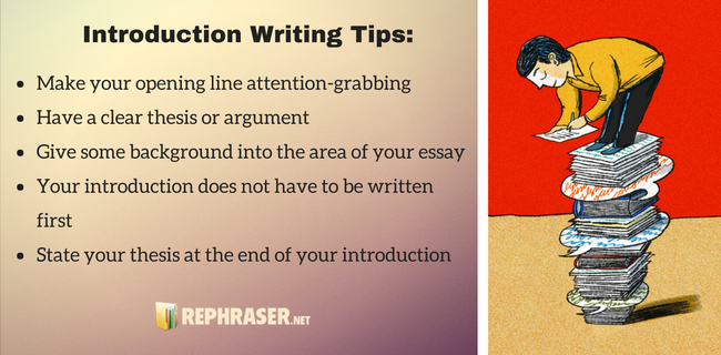 introduction writing tips