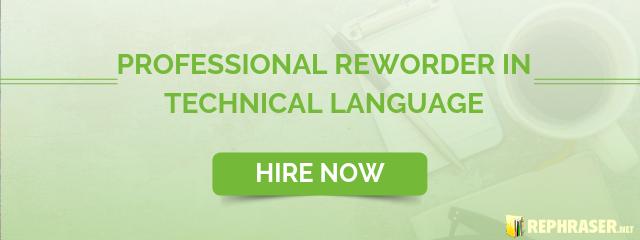rewrite technical language